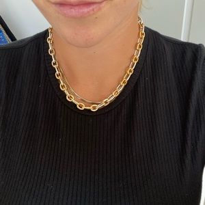 Jewelry - Two toned chain necklace